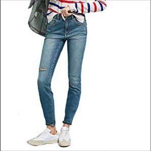 Pilcro Superscript High Rise Waist Jeans Sz 28